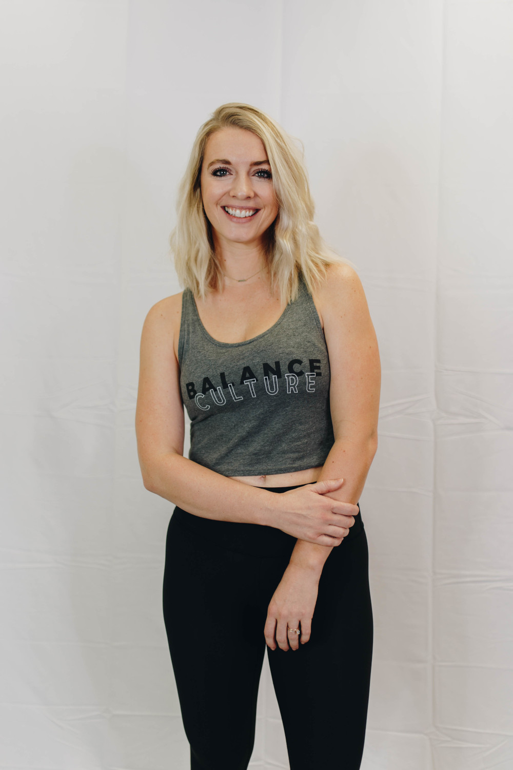 The Grey Crop | The Collection by The Balance Culture | Women's Fitness Studio in Lakeland, FL