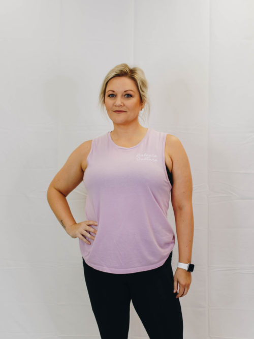 The Pink Muscle Tank | The Collection by The Balance Culture | Women's Fitness Studio in Lakeland, FL